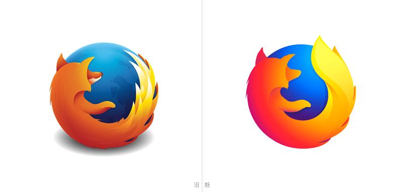 火狐浏览器(Firefox)即将换logo,是品牌升级还是扁平化发展!