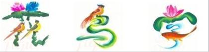 花鸟字绘画方法和口诀